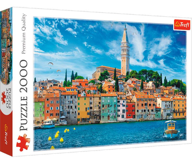 Puzzle Trefl Rovinj, Croacia de 2000 Piezas