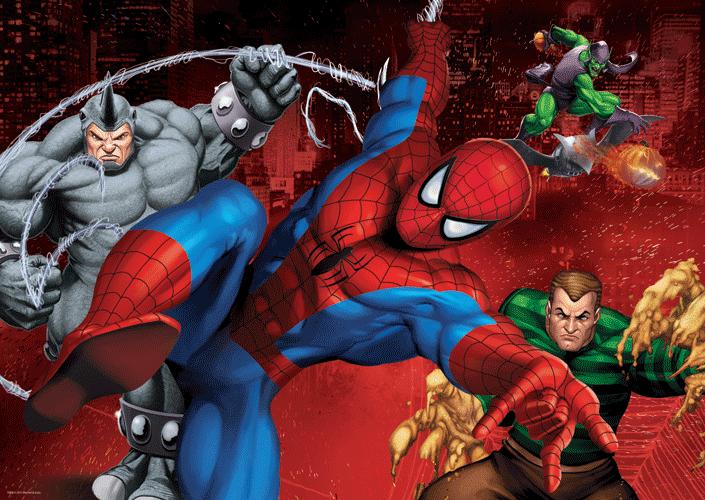 Puzzle Trefl Spiderman de 500 Piezas