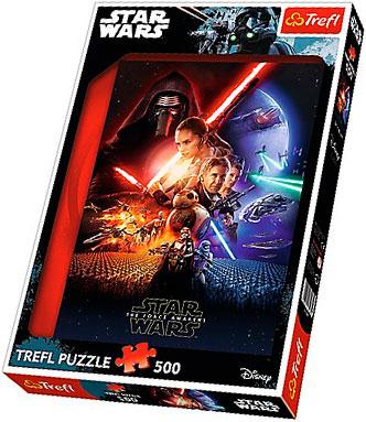 Puzzle Trefl Star Wars Episodio VII de 500 piezas