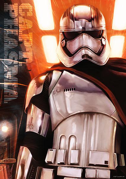 Puzzle Trefl Star Wars Capt. Phasma del Ep. VII de 500 Piezas