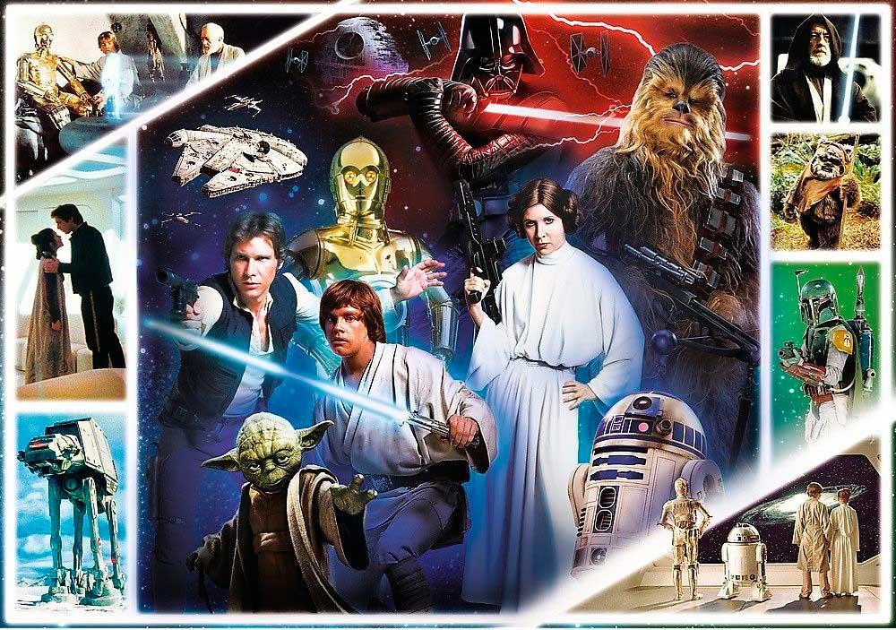 Puzzle Trefl Star Wars Trilogía Original de 1000 Piezas