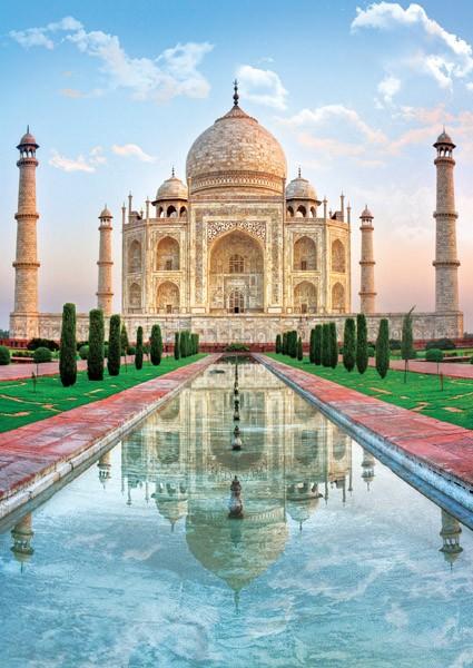 Puzzle Trefl Taj Mahal, India de 500 Piezas