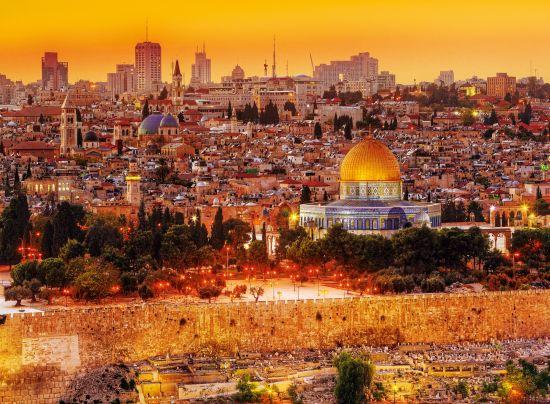 Puzzle Trefl Tejados de Jerusalem de 3000 Piezas
