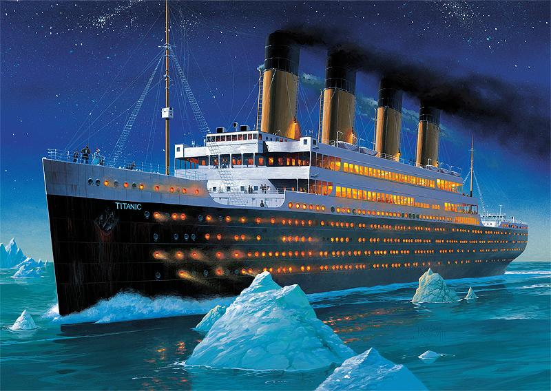 Puzzle Trefl Titanic de 1000 Piezas