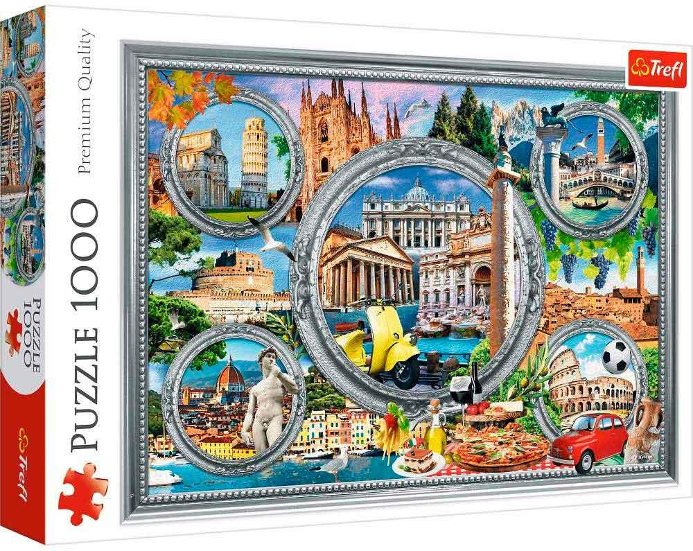 Puzzle Trefl Vacaciones Italianas de 1000 Piezas