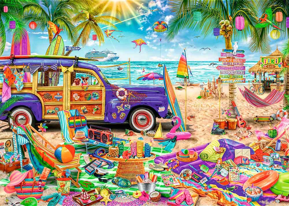 Puzzle Trefl Vacaciones Tropicales de 2000 Piezas