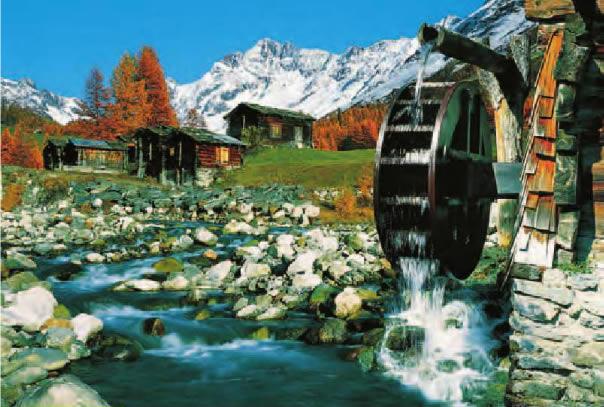 Puzzle Trefl Valle Lotschen, Suiza de 1000 Piezas
