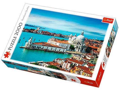 Puzzle Trefl Venecia, Italia de 2000 Piezas