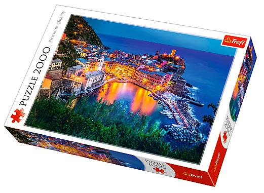 Puzzle Trefl Vernazza, Italia de 2000 Piezas