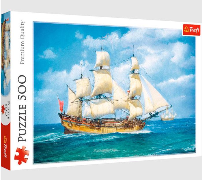 Puzzle Trefl Viaje Por Mar de 500 Piezas