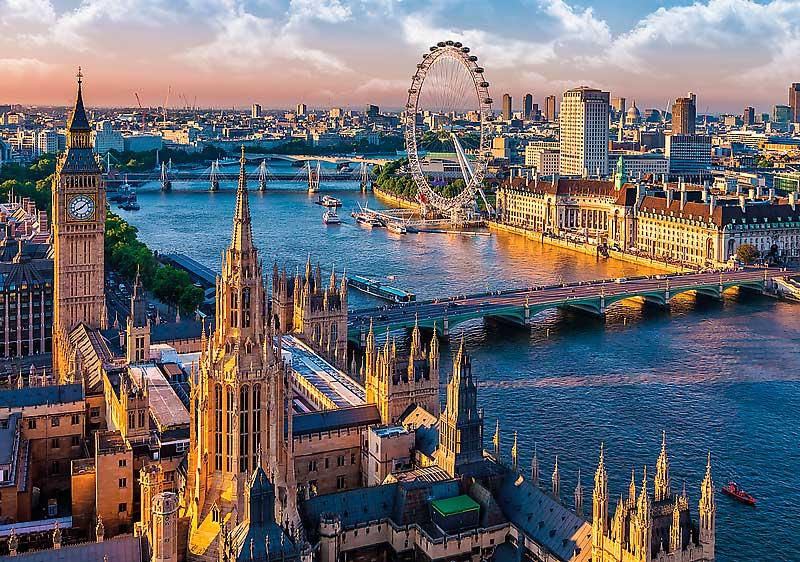 Puzzle Trefl Vista de Londres de 1000 Piezas