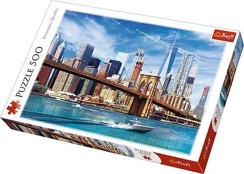 Puzzle Trefl Vista de Nueva York de 500 Piezas