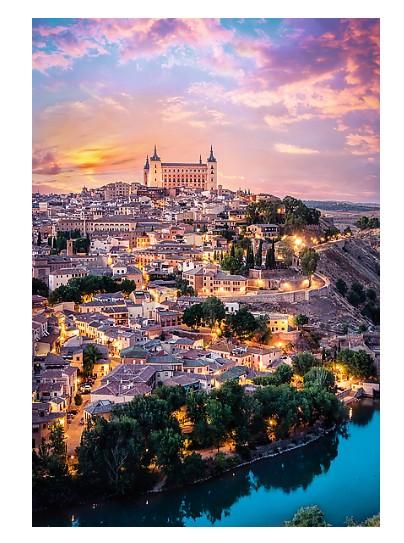 Puzzle Trefl Vistas de la Ciudad de Toledo, España de 1500 Pieza