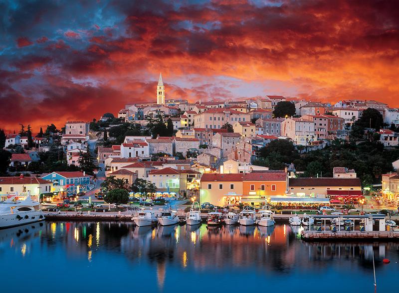 Puzzle Trefl Vsrar, Istria, Croacia de 3000 Piezas