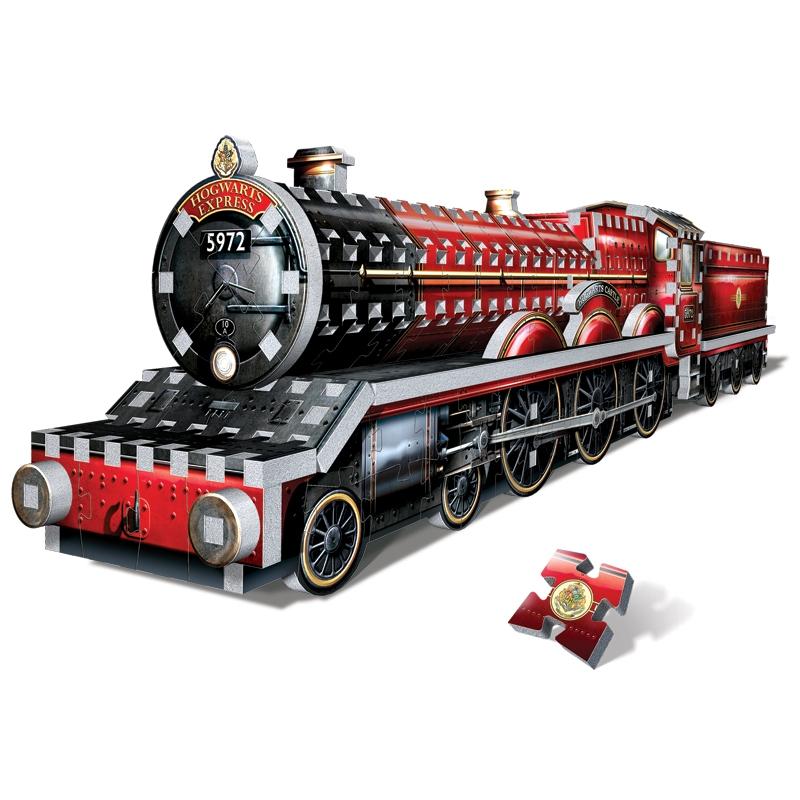 Puzzle Wrebbit 3D Harry Potter Hogwarts Express 460 Piezas