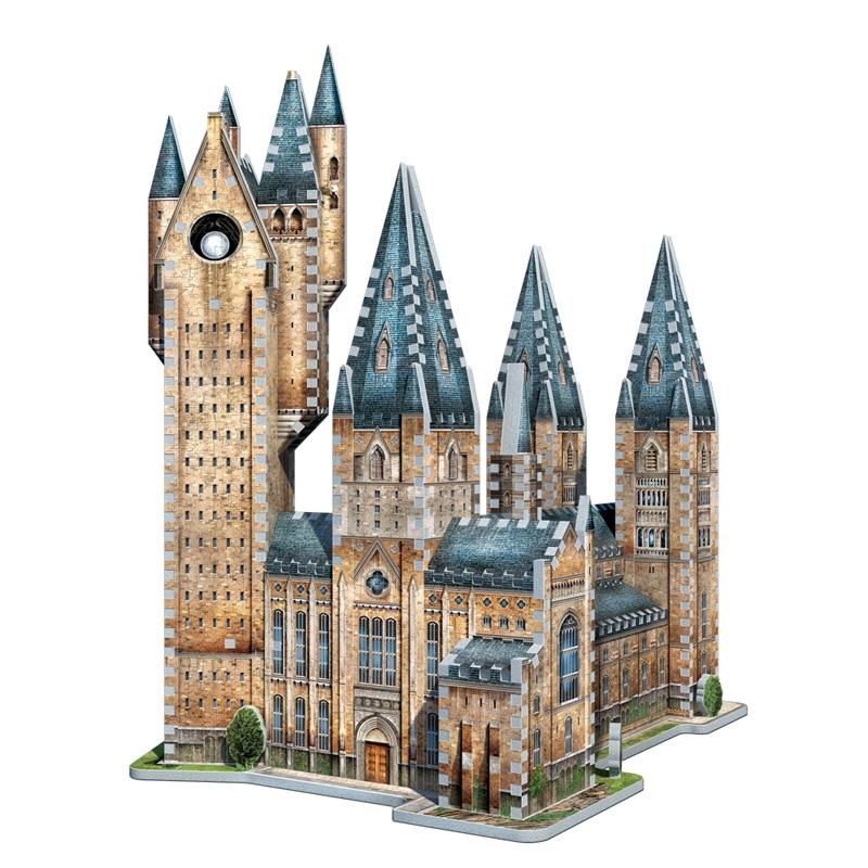Puzzle Wrebbit 3D Torre Astronómica Harry Potter 875 Piezas