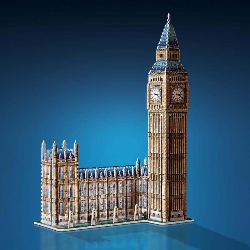 Puzzle Wrebbit Big Ben 3D 890 Piezas 3D 890 Piezas