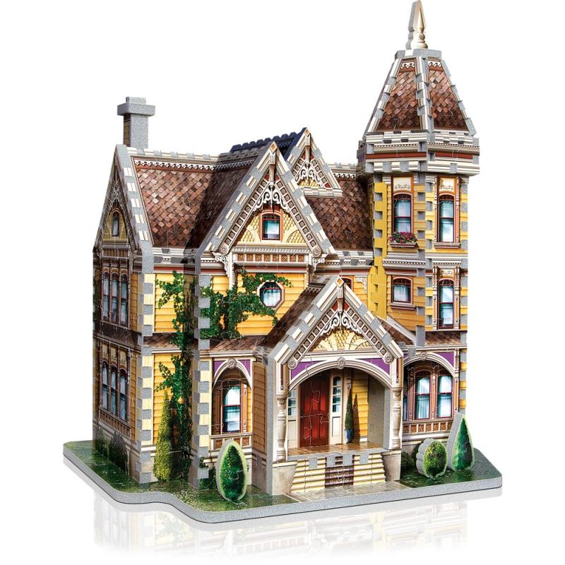 Puzzle Wrebbit Casa Lady Jane 3D 440 Piezas 3D 440 Piezas
