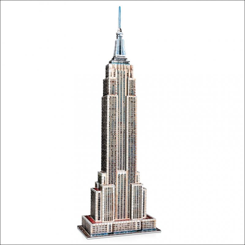Puzzle Wrebbit Empire State Building 3D 975 Piezas 3D 975 Piezas