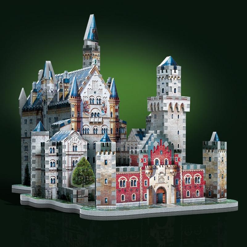 Puzzle Wrebbit Castillo del Rey Loco 3D 890 Piezas 3D 890 Piezas