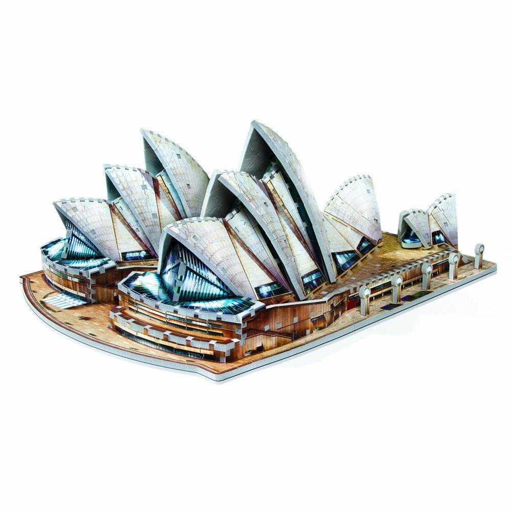 Puzzle Wrebbit Sydney Opera House 3D 925 Piezas 3D 925 Piezas