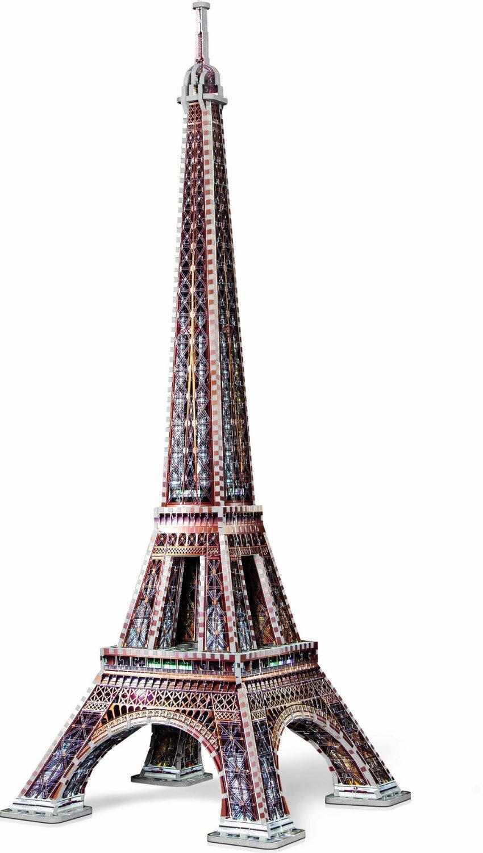 Puzzle Wrebbit Torre Eiffel 3D 816Piezas 3D 816 Piezas