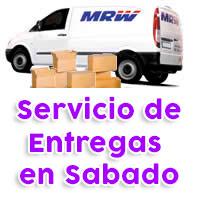 Servicio MRW Entrega en Sábado