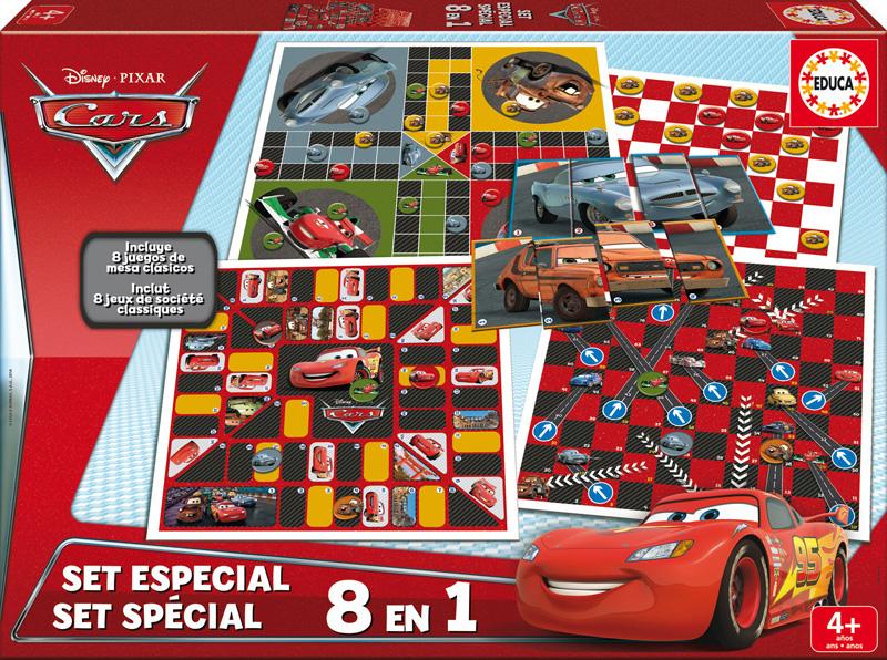 Set Especial 8 en 1 Cars