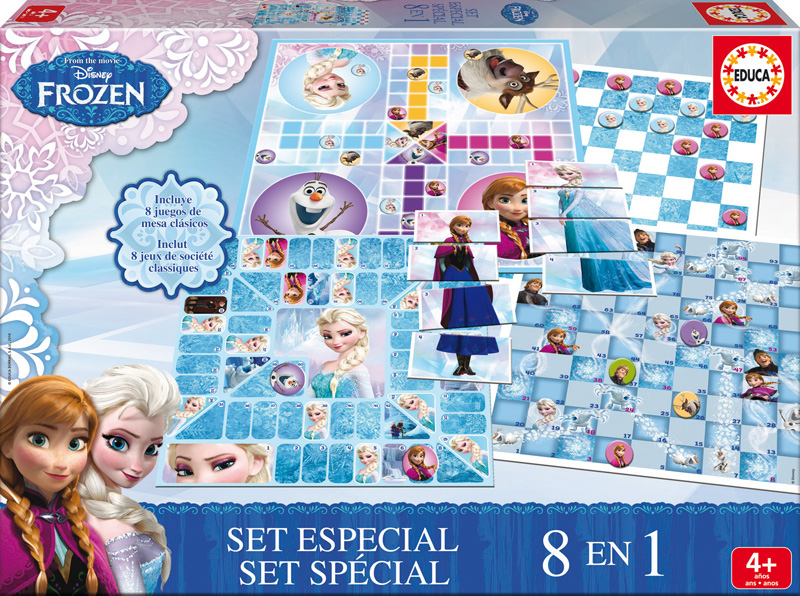 Set Especial 8 en 1 Frozen
