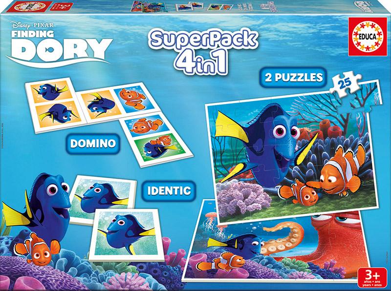 SuperPack Educa  Buscando a Dory