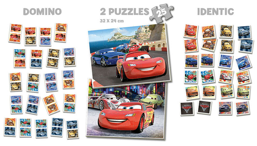 SuperPack Educa Cars