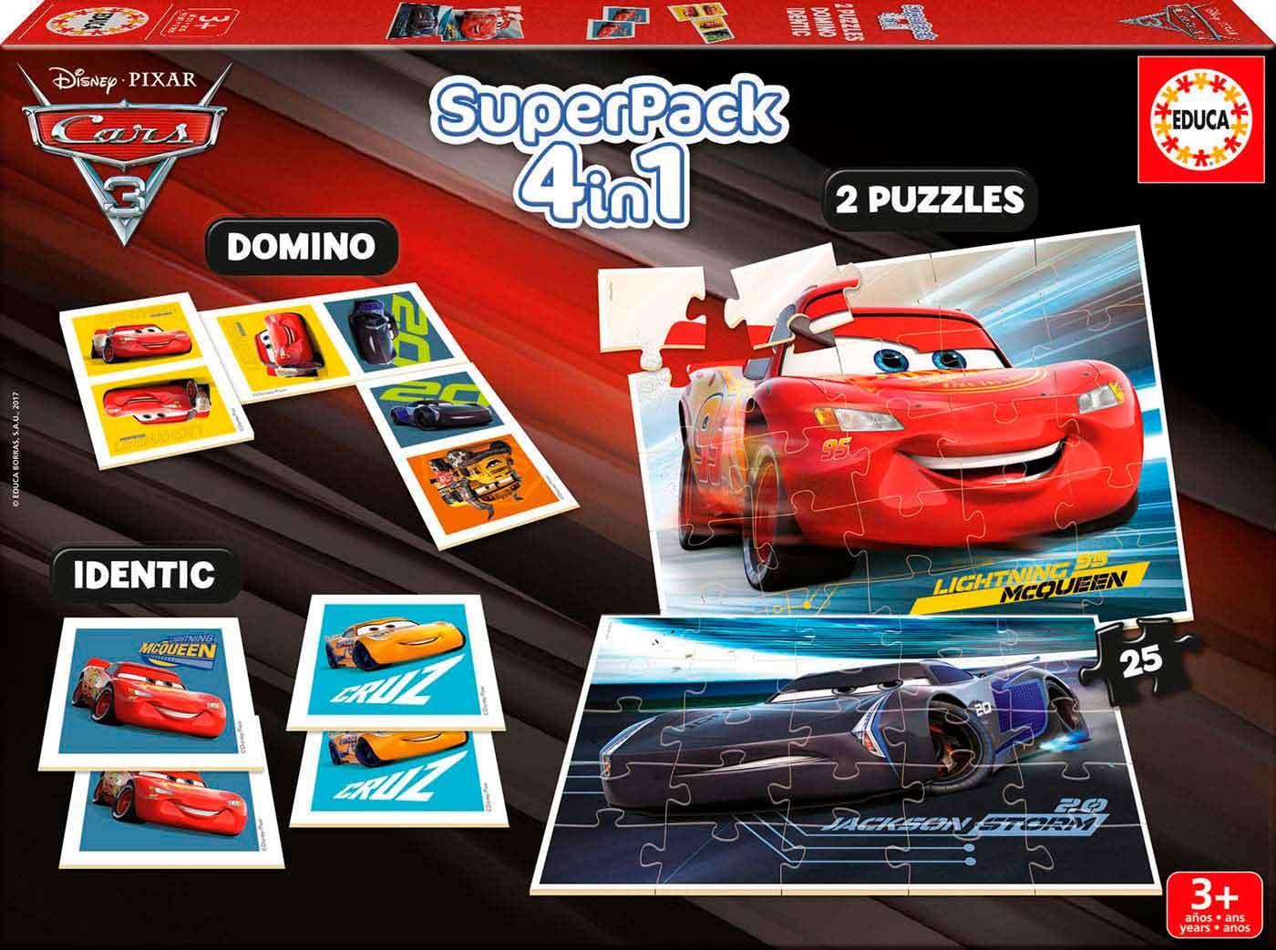 SuperPack Educa Cars 3