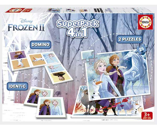 Superpack Educa Frozen 2