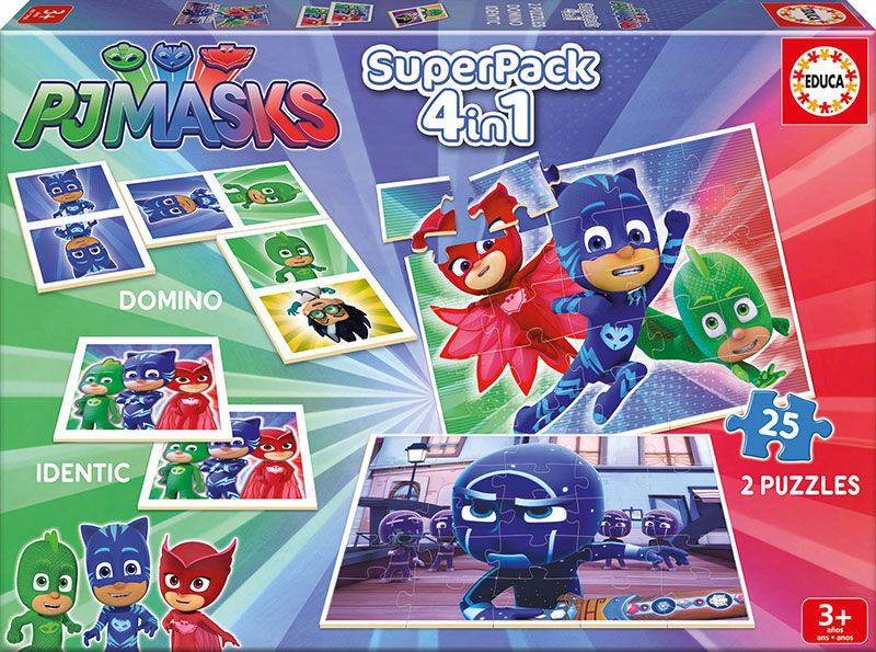 Superpack Educa PJ Masks