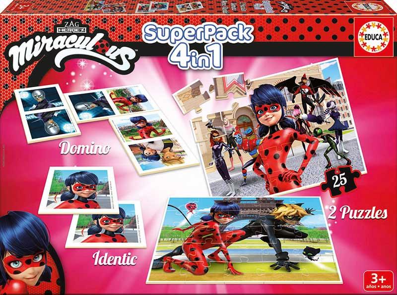 Superpack Educa Prodigiosa: Las Aventuras de Ladybug